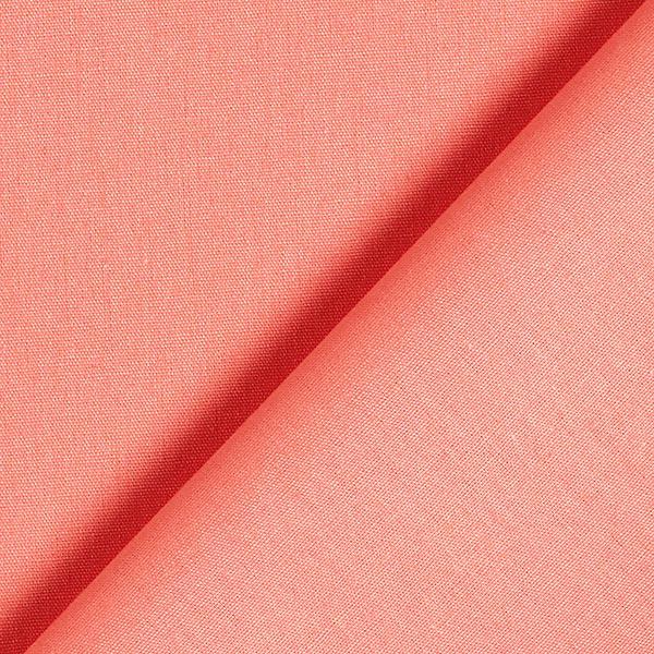 Tissu en coton Popeline Uni – corail