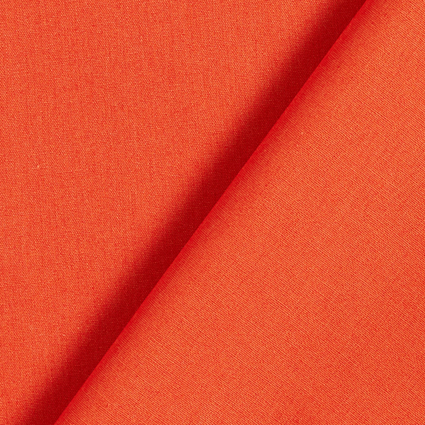 Baumwollstoff Popeline Uni – terracotta
