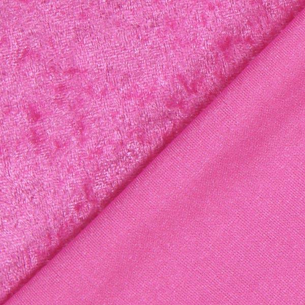 Pannesamt - hot pink