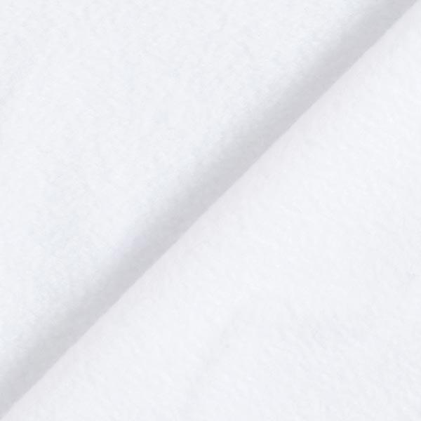 Polaire anti-boulochage stretch Premium – blanc