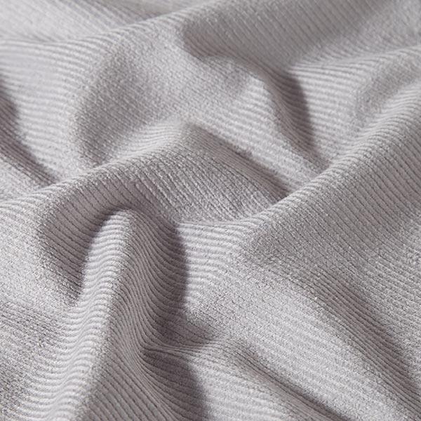 Velours de Gênes élastique, prélavé – gris