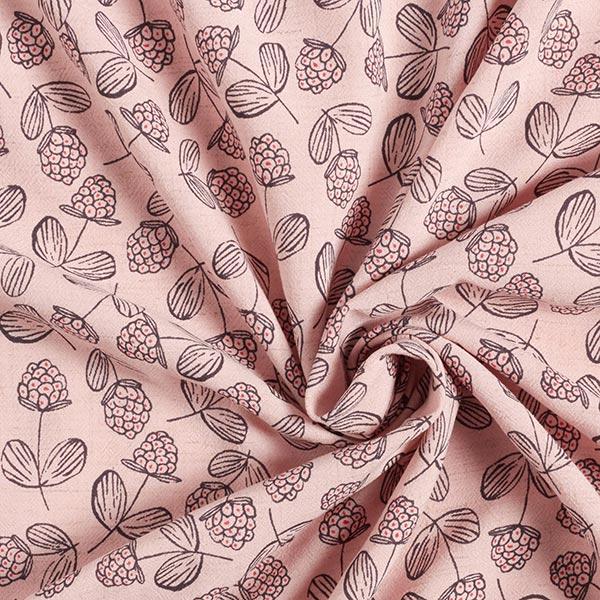 Mélange lin léger Framboises – rosé
