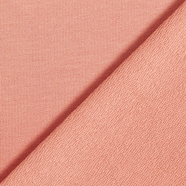 French Terry ombre – rouge rouille   by Poppy