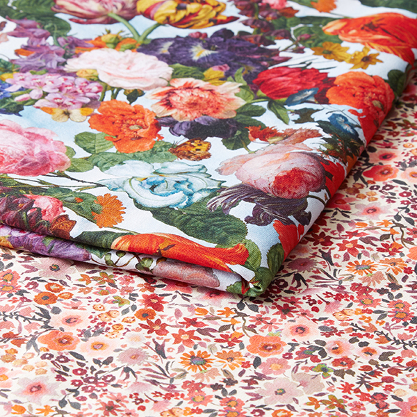 Jersey coton millefleurs   by Poppy – nature