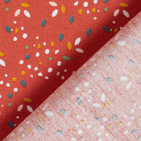Tissu en coton Popeline Taches GOTS – terre cuite