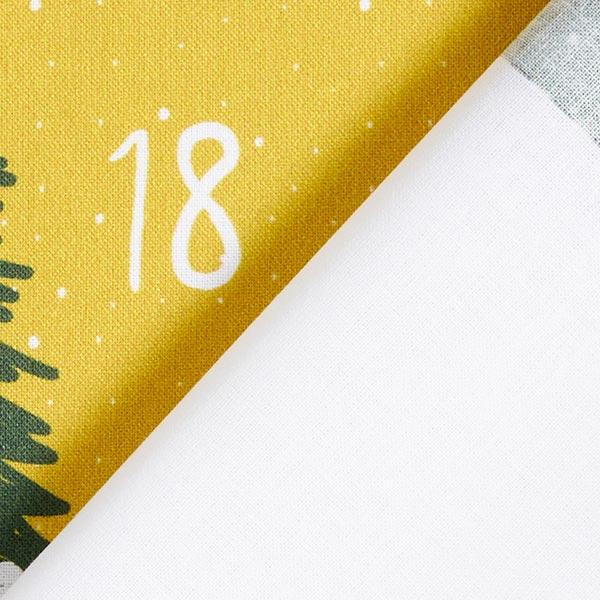 Popeline Coupon DIY calendrier de l'Avent | by Poppy – vert/moutarde