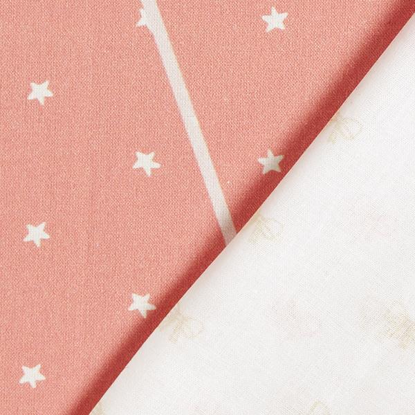 Panel Impression numérique Guirlande fanions bébé fille – blanc/rose