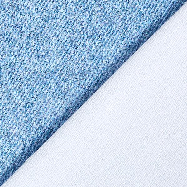 French Terry aspect jean GOTS – bleu jean | by Poppy