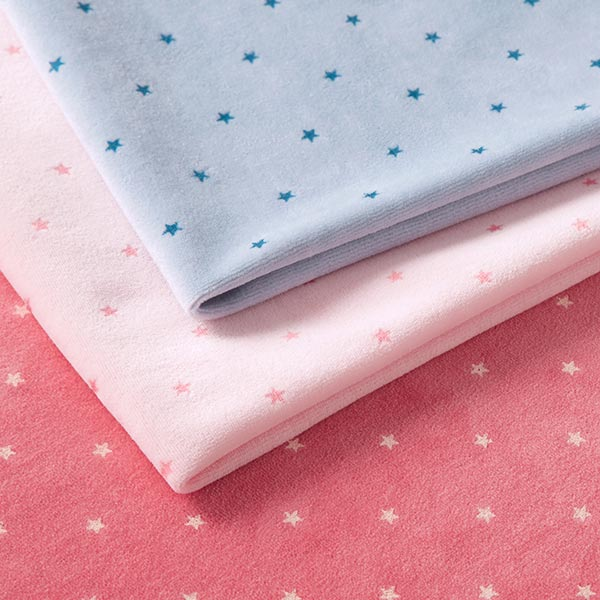 Tissu Nicki Petites étoiles – rosé/rose