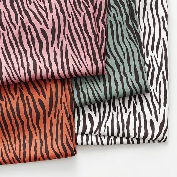 Tissu pour chemisier Viscose Rayures zébrées – roseau/vert