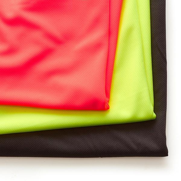 Jersey piqué sport léger – noir