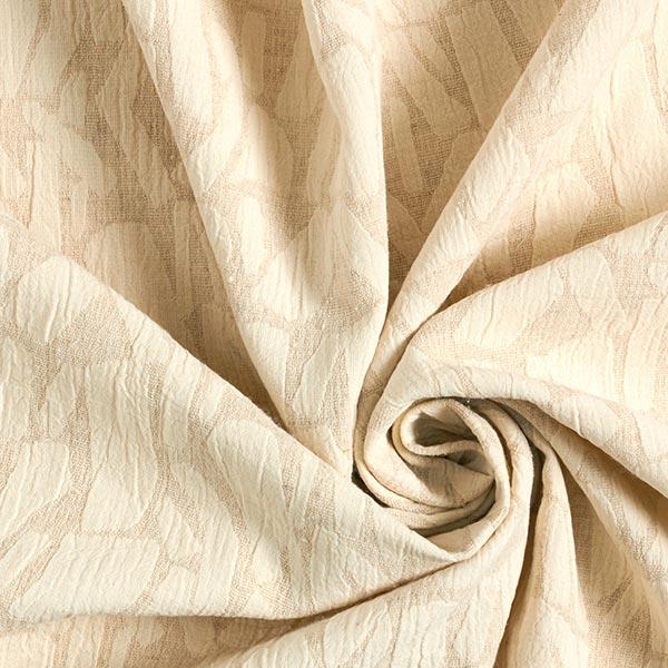 Jacquard mélange coton lin jacquard rayures diverses – nature