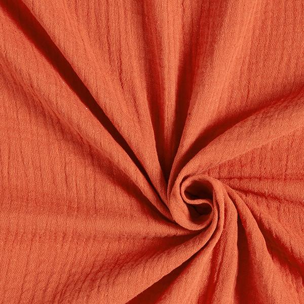 Mousseline Bordure joliment brodée | by Poppy – rouge rouille