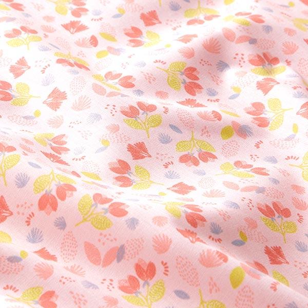 Popeline coton Adorables fleurs | by Poppy – rosé