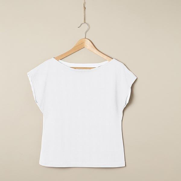 Jersey coton Medium Uni – blanc