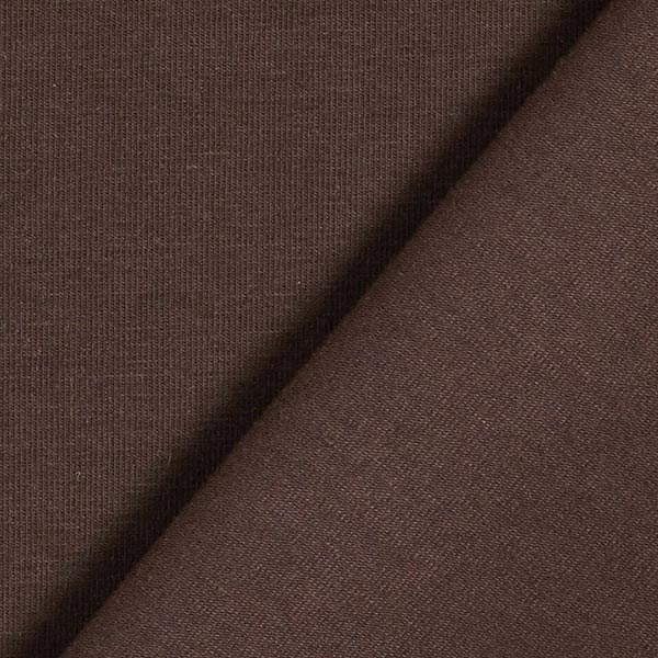 Jersey coton Medium Uni – marron