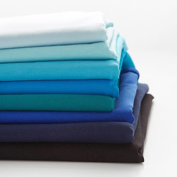 Jersey coton Medium Uni – bleu roi