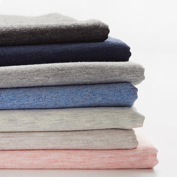 Jersey coton Medium Chiné – gris