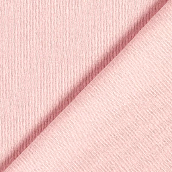 Jersey coton Medium Uni – rose clair