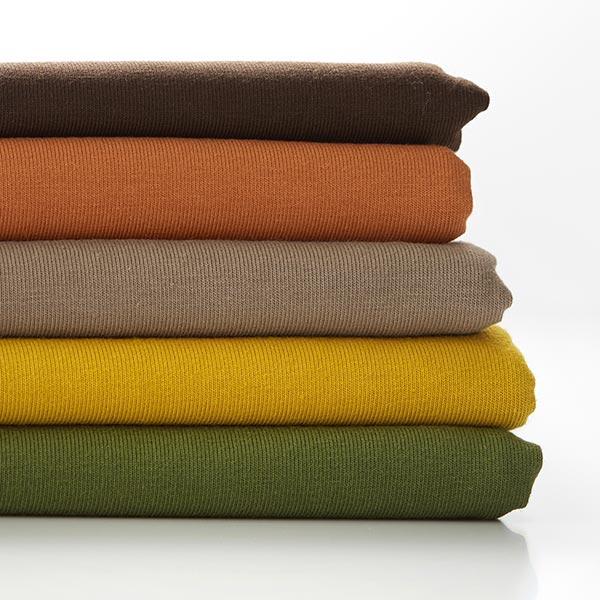Jersey coton Medium Uni – kaki