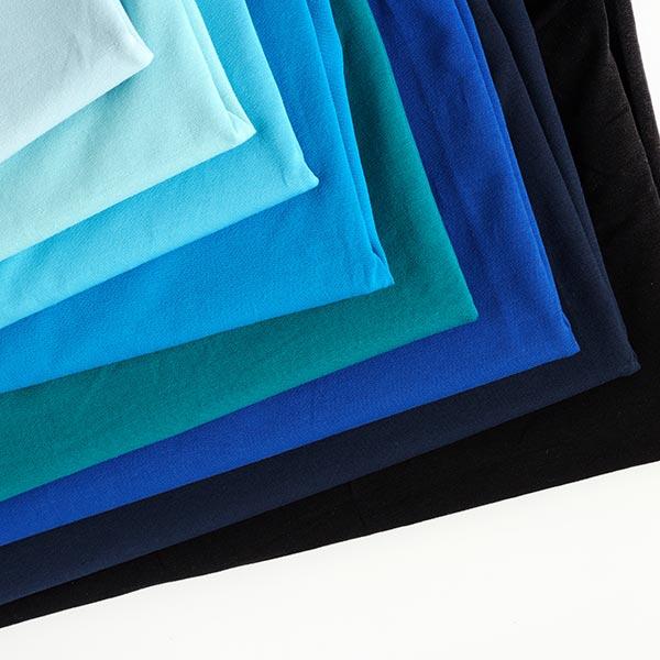 Jersey coton Medium Uni – pétrole