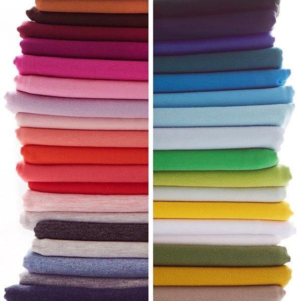Jersey coton Medium Chiné – gris clair