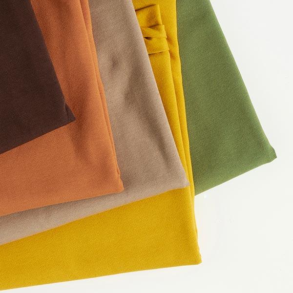 Jersey coton Medium Uni – mocca