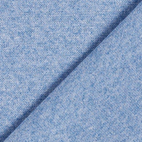 Bord-côtes Chiné – bleu jean