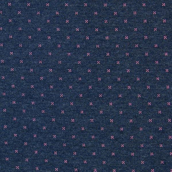 Jersey doubleface – bleu marine