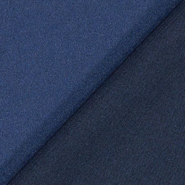 Satin microfibre – bleu marine