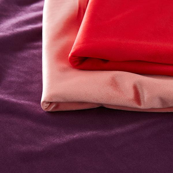 Tissu de décoration Velours – rose