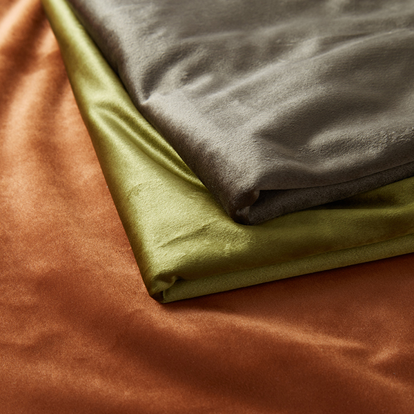 Tissu de décoration Velours – olive