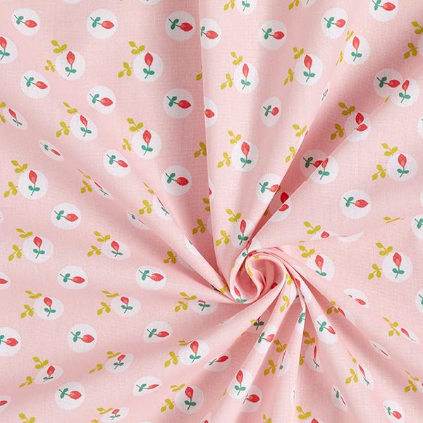 Popeline coton Églantier | by Poppy – rose