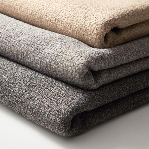 Tissu de décoration et d'ameublement Chiné recyclé – gris clair