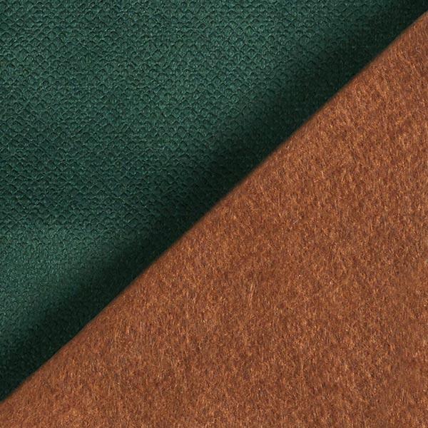 Tissu de décoration et d'ameublement Velours convient aux animaux domestiques – vert foncé