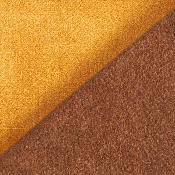 Tissu de décoration et d'ameublement Velours convient aux animaux domestiques – moutarde