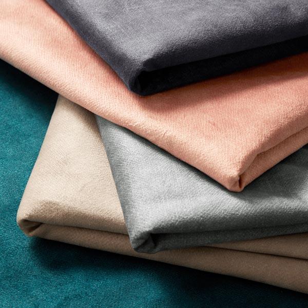 Tissu de décoration et d'ameublement Velours convient aux animaux domestiques – carmin