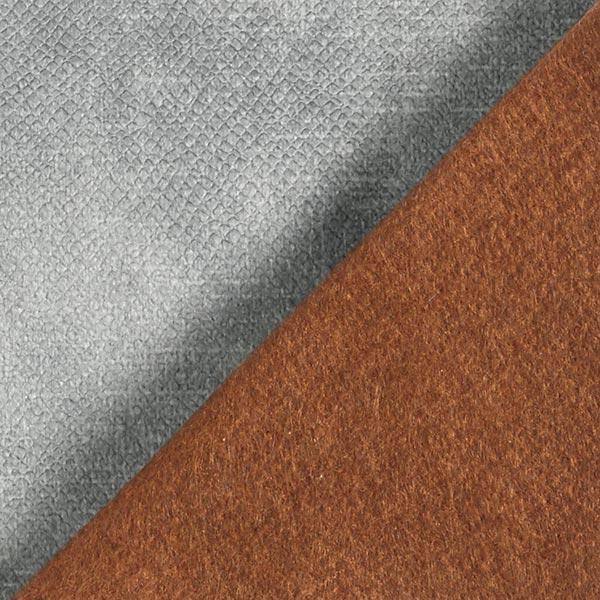 Tissu de décoration et d'ameublement Velours convient aux animaux domestiques – gris