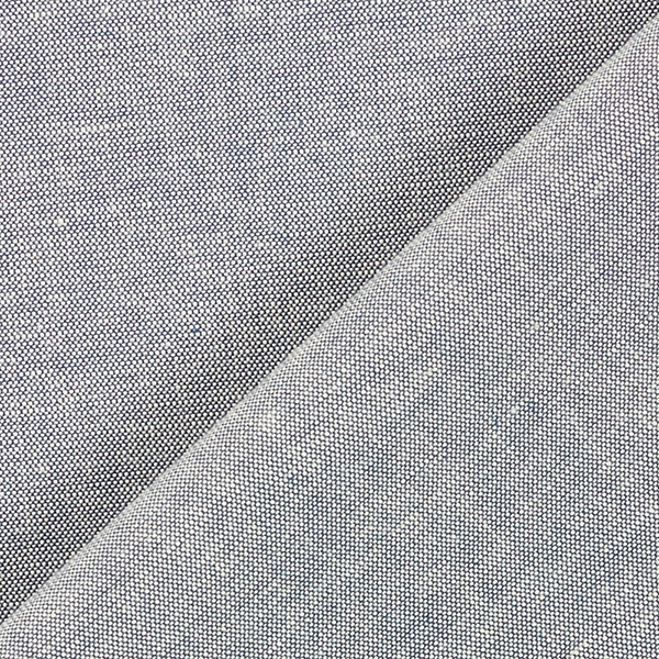 Coton pour chemises Stretch Chambray – bleu