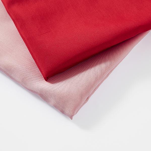 Tissu voile en coton et soie super léger – rosé