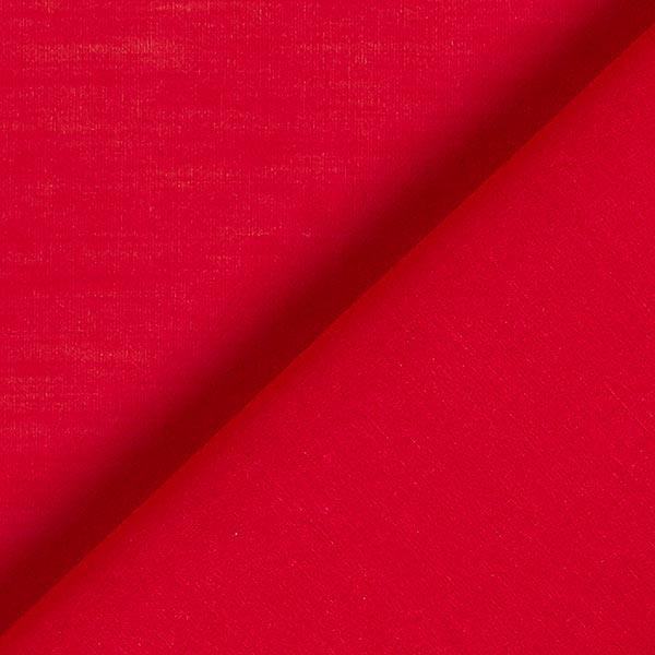 Tissu voile en coton et soie super léger – carmin