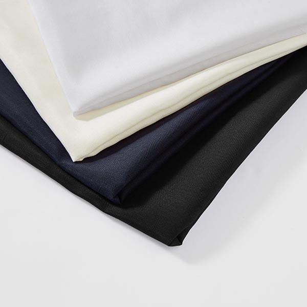 Tissu voile en coton et soie super léger – noir