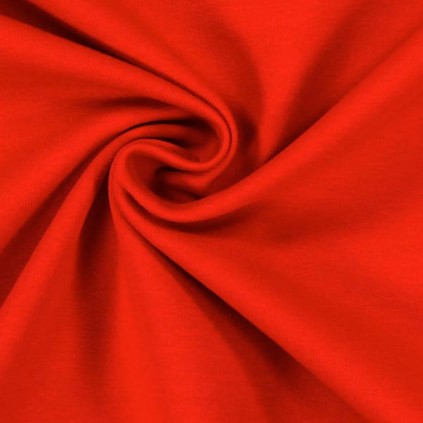 French Terry Premium – rouge vif