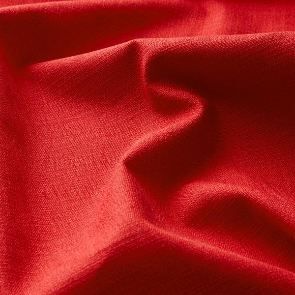 Tissu en lin stretch Mélange – rouge