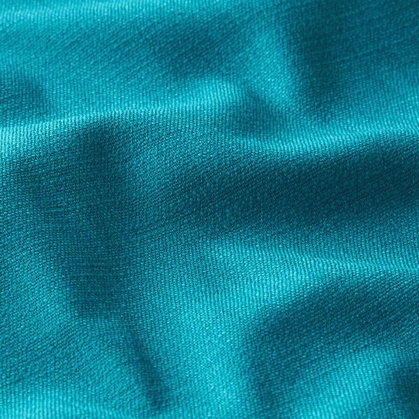 Tissu en lin stretch Mélange – pétrole