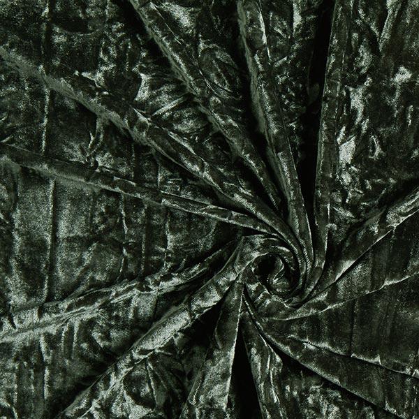 Velours froissé – vert foncé