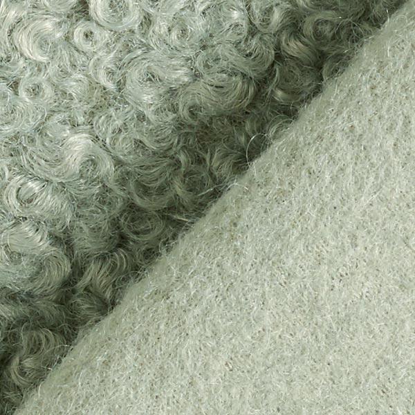 Tissu tricoté boucles – roseau