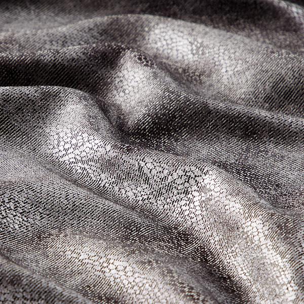 Jersey romanite Serpent métallisé – argent