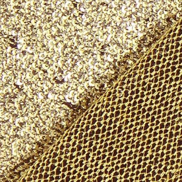 Tissu à paillettes Magique – or