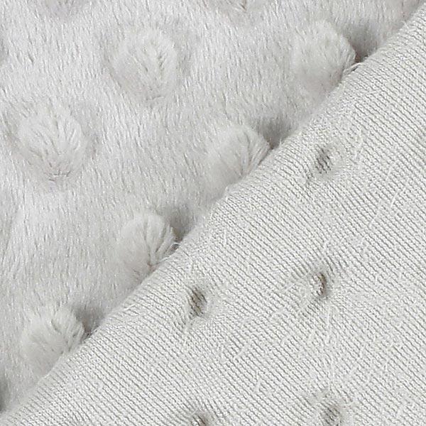 Tissu peluche Points 8